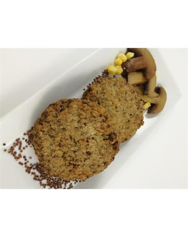 Hamburguesa con Champiñón y Quinoa
