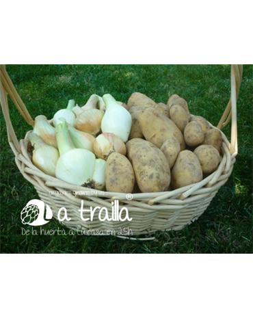 Caja de Patatas y Cebollas